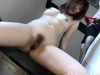 Hikaru Hinata loves toys upon her pussy