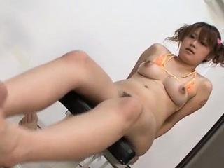 Busty Madoka Ayukawa tries cock in dirty ways