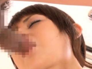 Eastern milf receives a lot of wang in her oriental cunt