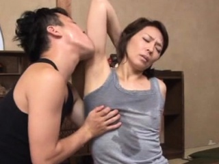 Agreeable asian adult gets say no to tits and vagina played in the air