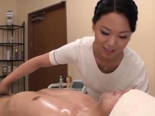 Impressive nipponese maid enjoys undressing