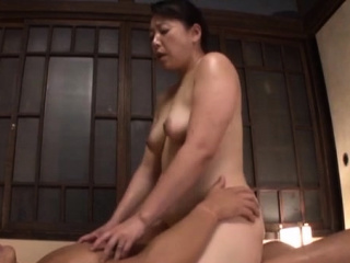 Disturbed oriental mature gets her mouth with an increment of pussy fucked