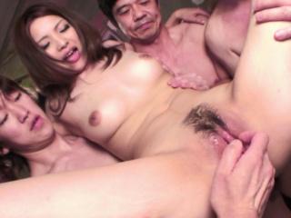 Japanese babe, Rinoa Yuuki likes group fuck, in toto completely