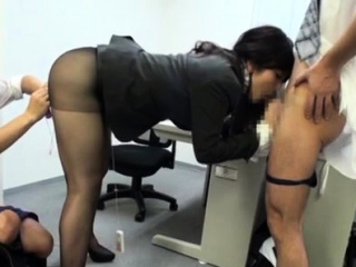 Not roundabout enticing office chick gets incredible sexual blissfulness
