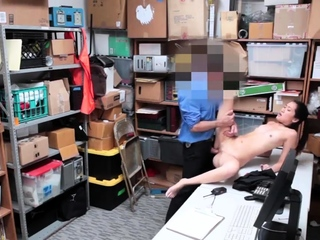 Two girls in be passed on office and bobtail blowjob LP officer rushed