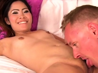 Beguiling oriental gal and her amoral libido