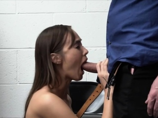 Suburban thief Asian spliced deep throats officer