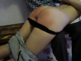 Chinese ass Lulu gets spanked by her protector